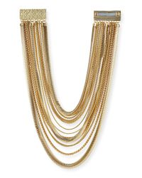 Kendra Scott - Metallic Wylie Mixed Chain Necklace - Lyst