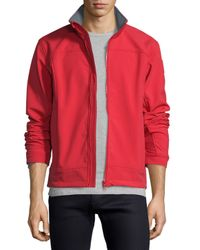 Canada Goose - Red Bracebridge Zip-up Jacket for Men - Lyst