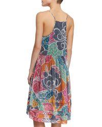 Diane von Furstenberg - Multicolor Franny Silk Dress - Lyst