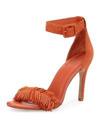 Joie | Multicolor Pippi Suede Fringe Sandal | Lyst