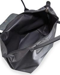 Longchamp - Gray Le Pliage Neo Large Nylon Shoulder Tote Bag - Lyst