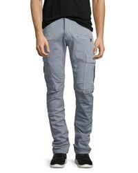 Hudson Jeans - Gray Greyson Cargo Biker Jeans for Men - Lyst