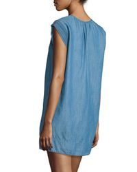 Joie - Blue Indigo Blayne Dress - Lyst