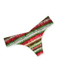 Commando - Multicolor Printed Microfiber Thong - Lyst