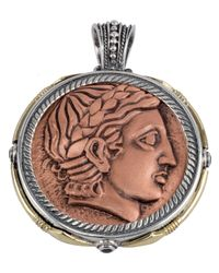 Konstantino | Multicolor Men's Aeolus Two-sided Apollo Pendant W/spinel for Men | Lyst