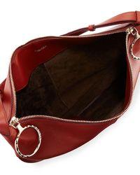 Nina Ricci - Red Kuti Large Leather Hobo Bag - Lyst