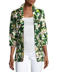 Berek   Green Palm Springs Two-button Blazer Jacket   Lyst