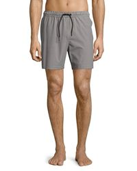 Theory | Gray Cosmos Simulate Swim Trunks for Men | Lyst