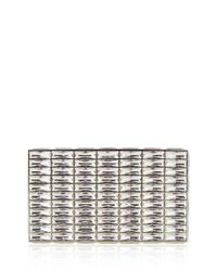 Judith Leiber Couture - Metallic Duchesse Faceted Box Clutch Bag - Lyst