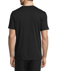 Adidas - Black Original Trefoil T-shirt for Men - Lyst