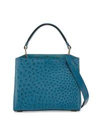 VBH   Blue Seven 30 Ostrich Tote Bag   Lyst
