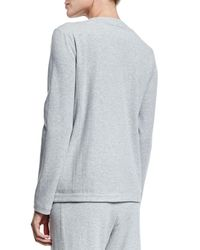 Joan Vass | Gray Four-pocket Interlock Jacket | Lyst
