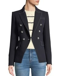 Veronica Beard - Blue Miller Double-breasted Blazer Jacket - Lyst