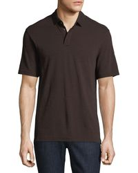 Z Zegna - Red Techmerino Wool Polo Shirt for Men - Lyst