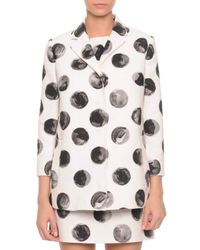 Dolce & Gabbana   Multicolor Polka Dot Jacket   Lyst