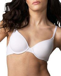 Hanro | White Touch Feeling Shirt Bra | Lyst