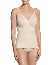 Wacoal - Natural Visual Effects Shaping Camisole With Built-in Full Coverage Bra - Lyst
