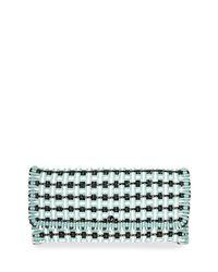 Balenciaga   Multicolor Bistro Cabas Medium Woven Clutch Bag   Lyst