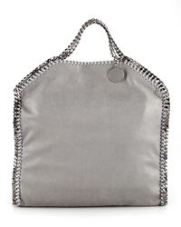 Stella McCartney | Gray Falabella Fold-over Tote Bag | Lyst