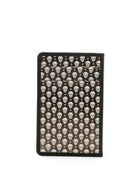 Alexander McQueen - Green Coated Skull Card Case for Men - Lyst