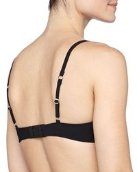 Hanro | Black Allure Basic T-shirt Bra | Lyst
