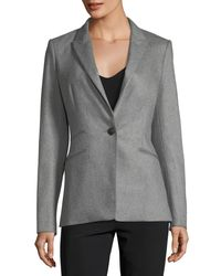 Rag & Bone | Gray Duke Wool-blend One-button Tailored Blazer | Lyst