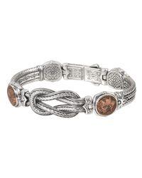Konstantino - Metallic Men's Sterling Silver & Copper Coin Bracelet - Lyst