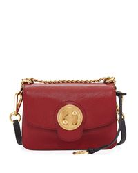 Chloé - Red Mily Small Leather Shoulder Bag - Lyst