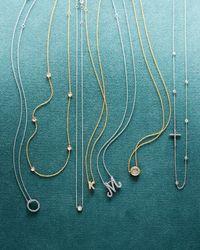 Roberto Coin | Metallic Five-station Diamond Necklace | Lyst