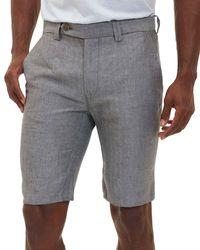 Robert Graham - Gray Prundale Dress Shorts for Men - Lyst