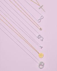 Roberto Coin - Metallic Cross Necklace - Lyst