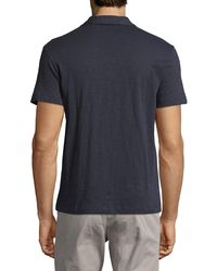 Theory - Blue Willem Nebulous Polo Shirt for Men - Lyst
