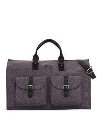 Hook + Albert - Multicolor Melange Carry-on Garment Weekender Bag - Lyst