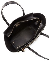 Ferragamo - Black Amy Medium Leather Tote Bag - Lyst