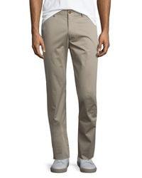 Vince | Multicolor Flat-front Stretch Sateen Pants for Men | Lyst