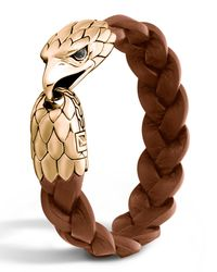 John Hardy - Metallic Men's Bronze Eagle Head Bracelet for Men - Lyst