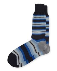 Paul Smith | Tiger-stripe Socks With Multicolor Band for Men | Lyst