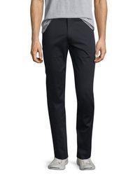 Vince - Blue Flat-front Stretch Sateen Pants for Men - Lyst