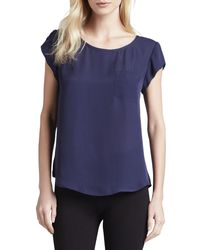 Joie - Blue Rancher Short-sleeve Blouse - Lyst