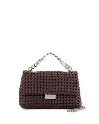 Stella McCartney - Multicolor Bex Small Woven Flap Shoulder Bag - Lyst