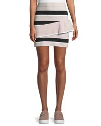 Parker - Pink Toby Knit Mini Skirt - Lyst