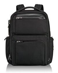 Tumi - Arrive Black Bradley Backpack - Lyst