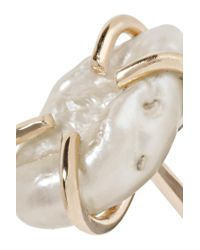 Melissa Joy Manning - Metallic 14-karat Gold Pearl Earrings - Lyst