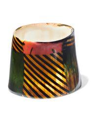 Marni - Green Printed Horn Cuff - Lyst