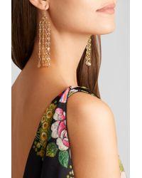 Pippa Small - Metallic 18-karat Gold Sapphire Earrings - Lyst