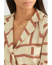 Chan Luu - Metallic Gold-plated Necklace Gold One Size - Lyst