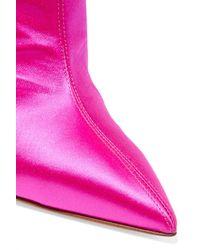 Alexandre Vauthier - Pink Alex Fuchsia High Heel Boots - Lyst