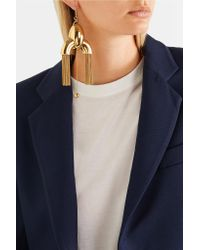 Ellery - Metallic Anthology Gold-plated Earrings - Lyst