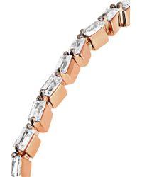 Suzanne Kalan - Multicolor 18-karat Rose Gold Diamond Cuff - Lyst