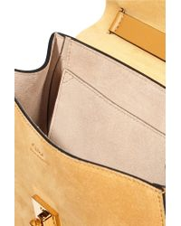Chloé - Yellow Drew Small Leather Shoulder Bag - Lyst